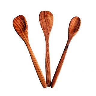 Mestoli in legno d'ulivo