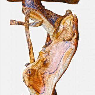 Leggio in legno d'ulivo - Presso la chiesa Santissimo Salvatore Nerano